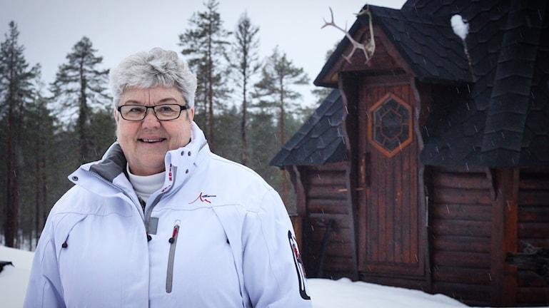 Karin Bäck vill göra om några rum i Nornäs bed and breakfast till äldreboende.