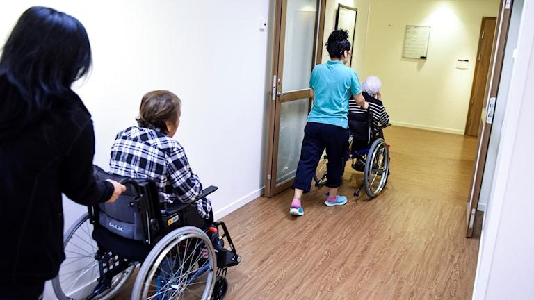 I oktober i år hade det kommit in fler klagomål mot äldreomsorgen i länet än under hela 2016.