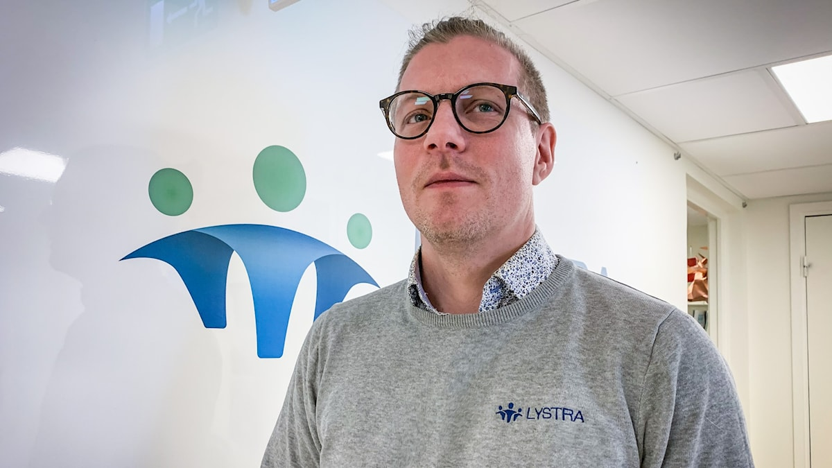 Jesper Gullstrand är HR-ansvarig på lystra personlig assistans