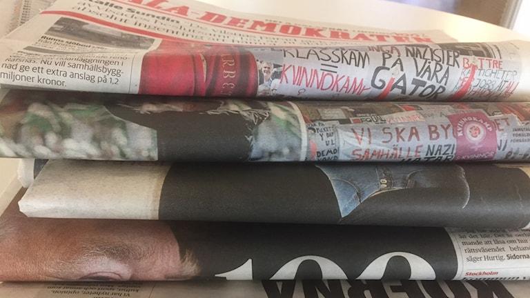 Flera tidningar