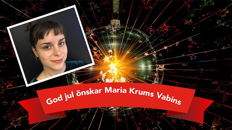 Maria Krums Vabins önskar god jul
