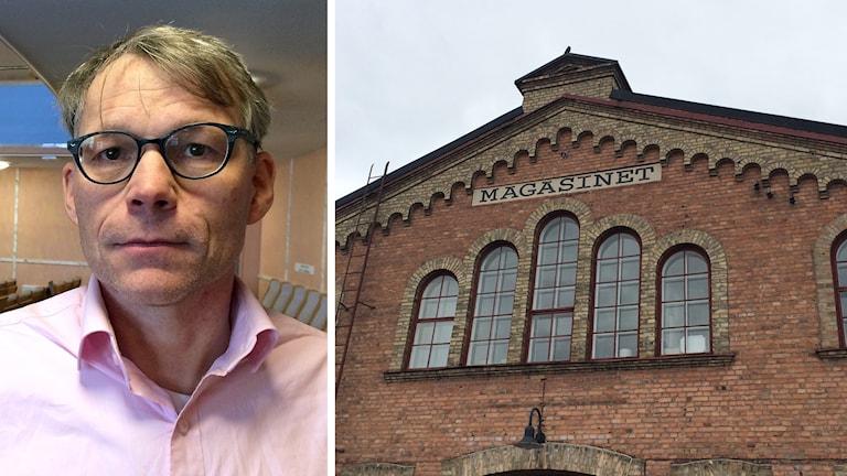 Liberalen Svante Parsjö Tegnér och Magasinet i Falun.