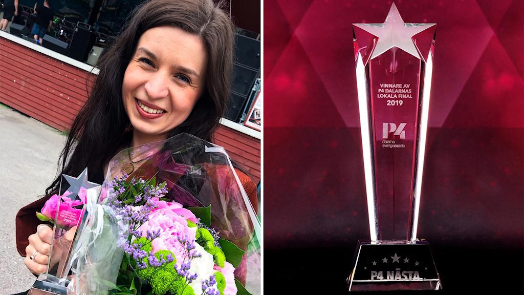 Vilma Flood vinnare av dalafinalen i P4 Nästa
