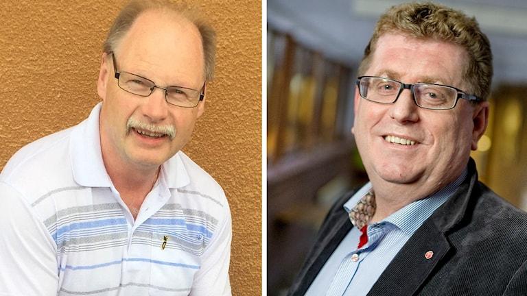 Socialdemokraterna Kenneth Persson och Jan Bohman i Borlänge.