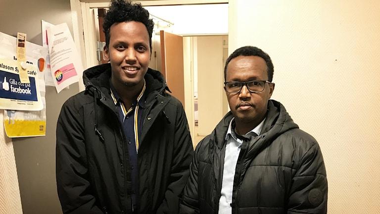 Ahmed Osman och, Said Siyaad.