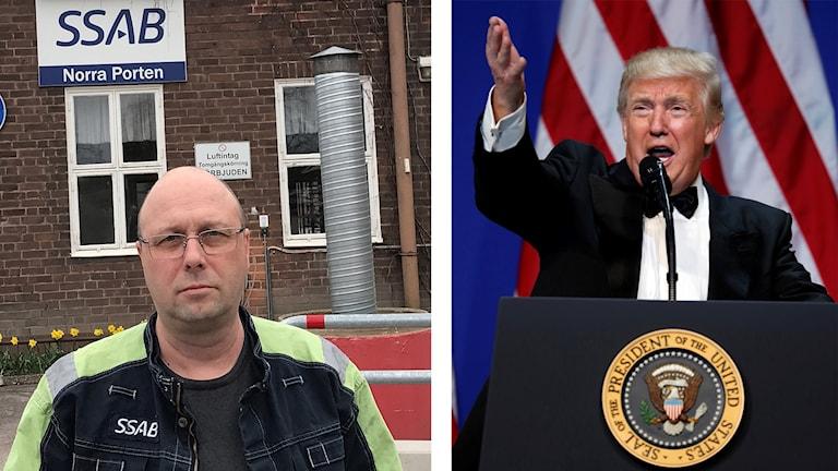 SSAB:s donation av pengar till Donald Trumps installationsceremoni rör upp känslorna hos facket.