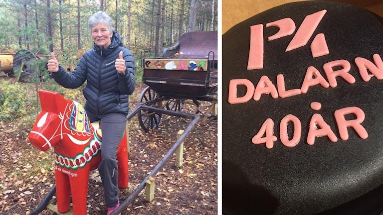 Anna Mattsson Svensson fick veckans tårta