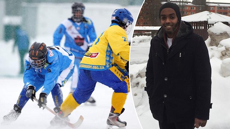 Mahad Musse, ordförande för Somalia Bandy