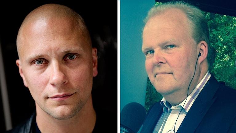 Magnus Betnér och Mats Ingels.