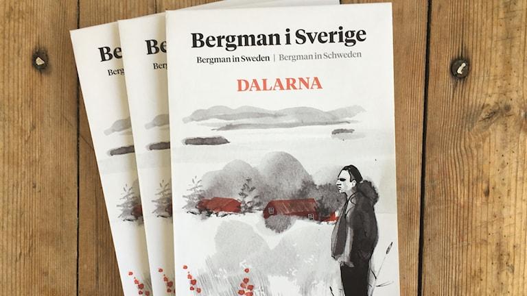 Ingmar Bergman skulle fyllt 100 år den 14 juli. Nu finns kartor på hans vistelse i Dalarna tillgängliga på turistbyråer i länet.
