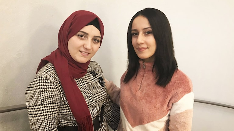 Hala Alshobaki och Bisan Qasem