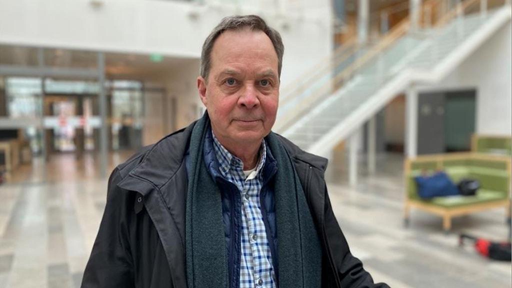Industriledaren Karl Hedin i Västmanlands tingsrätt.