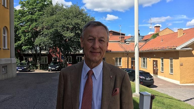 Centerpartisten Göran Engström har gjort sitt sista landstingsfullmäktige.