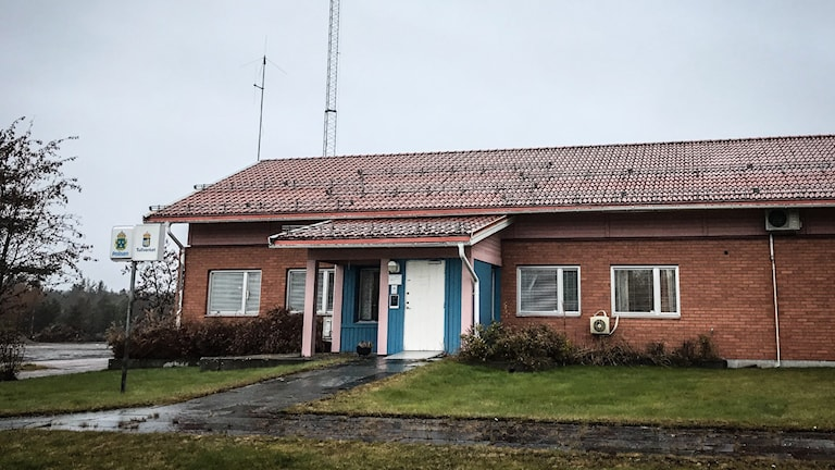 Polisstationen i Idre