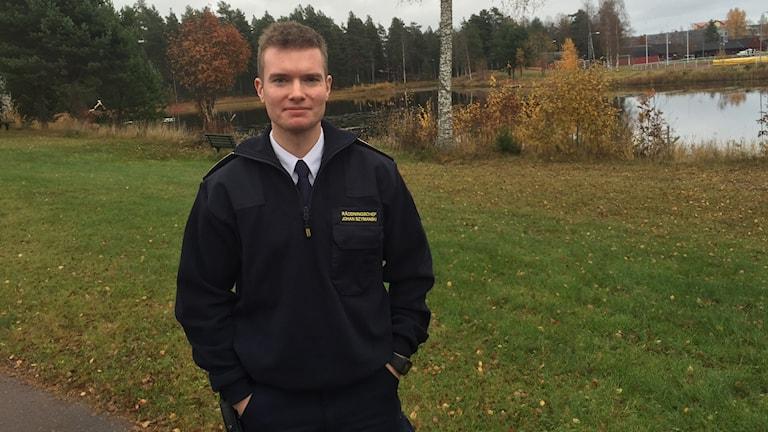 Räddningschefen i Mora och Orsa, Johan Szymanski.