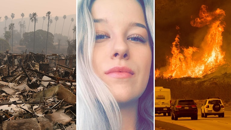 Emma Andersson från Borlänge pluggar på Santa Monica college som ligger i närheten av Los Angeles