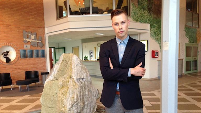 Sebastian Lysén från Falun drar nu igång organisationen #vågatala på allvar med en konferensdag i Borlänge.