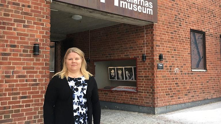 Anna Lögdqvist är verksamhetschef på Dalarna museum.