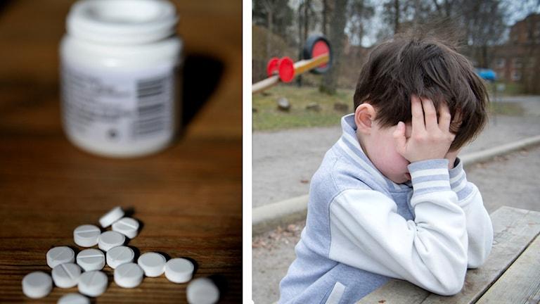 Siffror från Socialstyrelsen visar att allt fler barn får antidepressiva läkemedel.