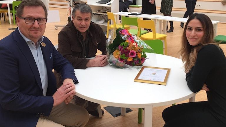Anders Björkman, Ramazan Kizil och Zilan Lawan
