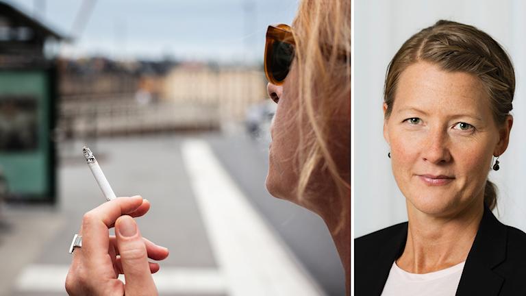 Rökförbud/TT Josefin P Jonsson Enhetschef Tobaksprevention på Folkhälsomyndigheten