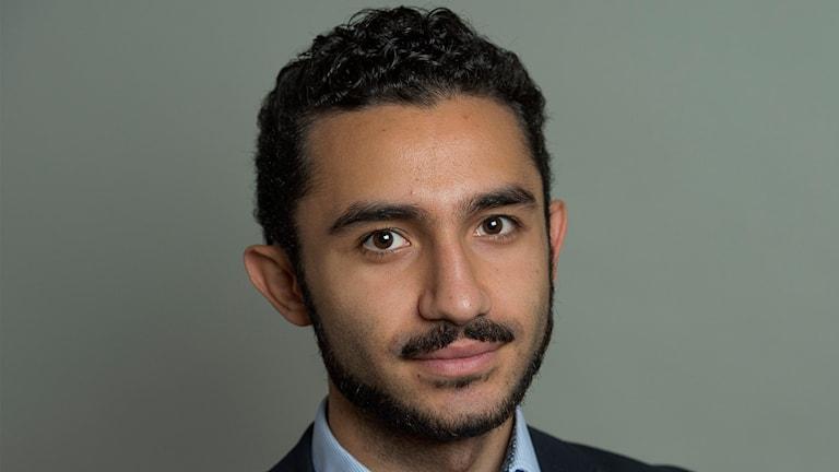 Vänsterpartisten och riksdagsledamoten Daniel Riazat