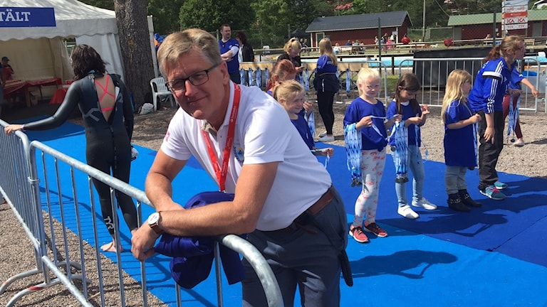 Jan Palander, generalsekreterare för Vansbrosimningen.