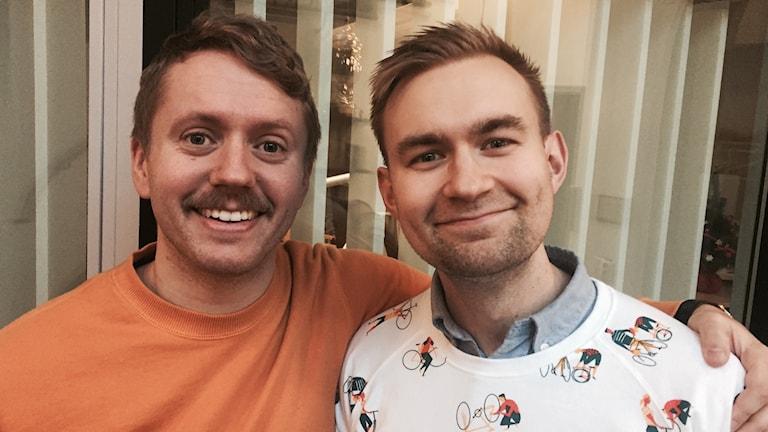 Isak Jansson och Thomas Eriksson.