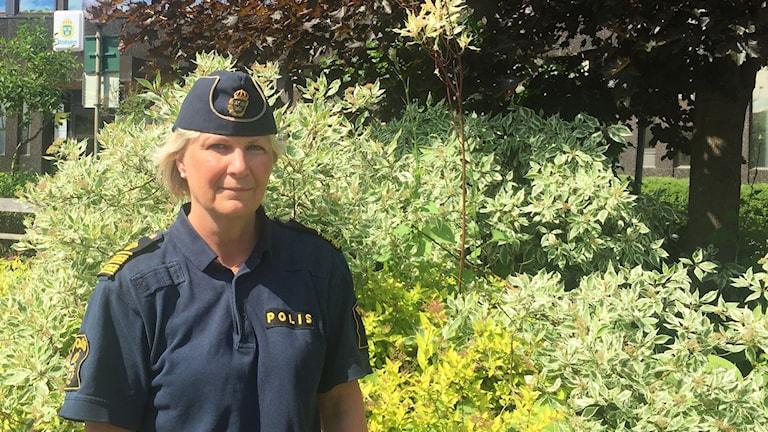 Lena Friberg, trafikpolischef.
