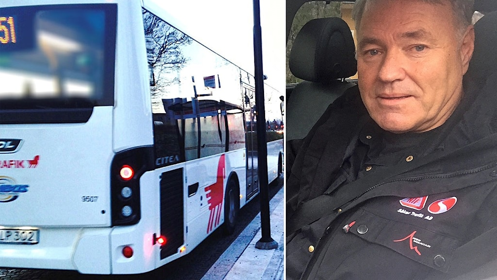 """Hans Moberg är vd på NTF Dalarna. Han välkomnar bussar med """"geofencing""""."""