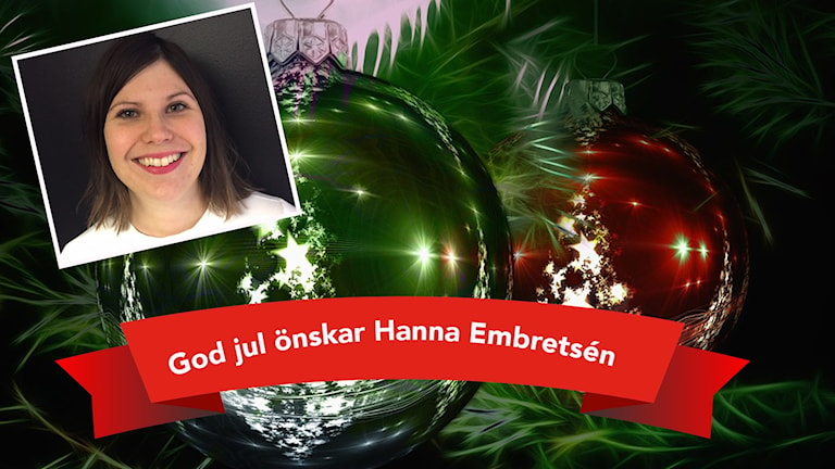Hanna önskar god jul