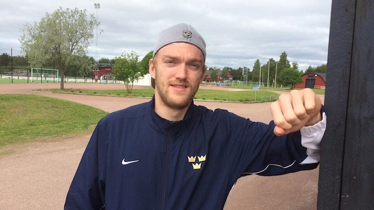 Mattias Ekholm som är uttagen till World cup i hockey.