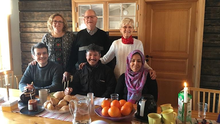 En bild med boende i Siljansnäs