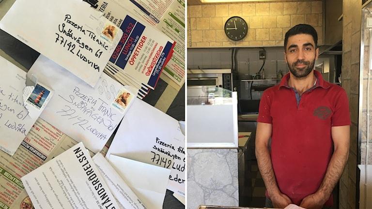 Nazisttrakasserier mot pizzeria i Ludvika – nu polisanmäler de.