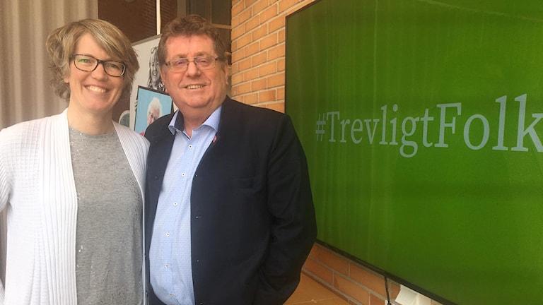 Åsa Granath, kommundirektör, och Jan Bohman (S), ordförande i Borlänges kommunstyrelse, är några som arbetar med nystarten för Trevligt folk.