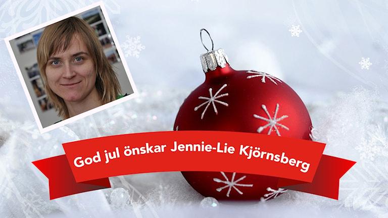 Jennie-Lie önskar god jul