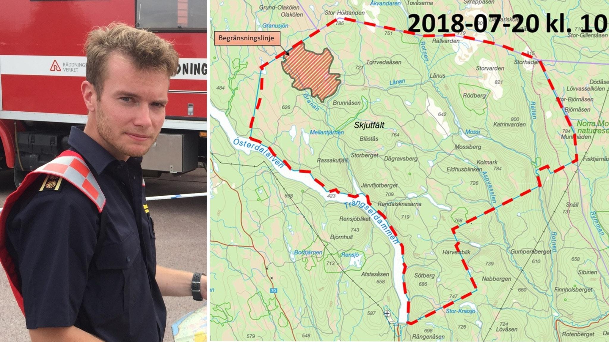 Karta Over Skogsbrander I Sverige.Raddningschefen Det Kommer Brinna I Tre Veckor P4 Dalarna