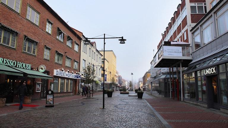 gata i Ludvika med affärer