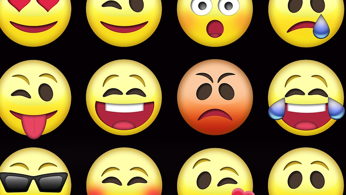 Flera emojis