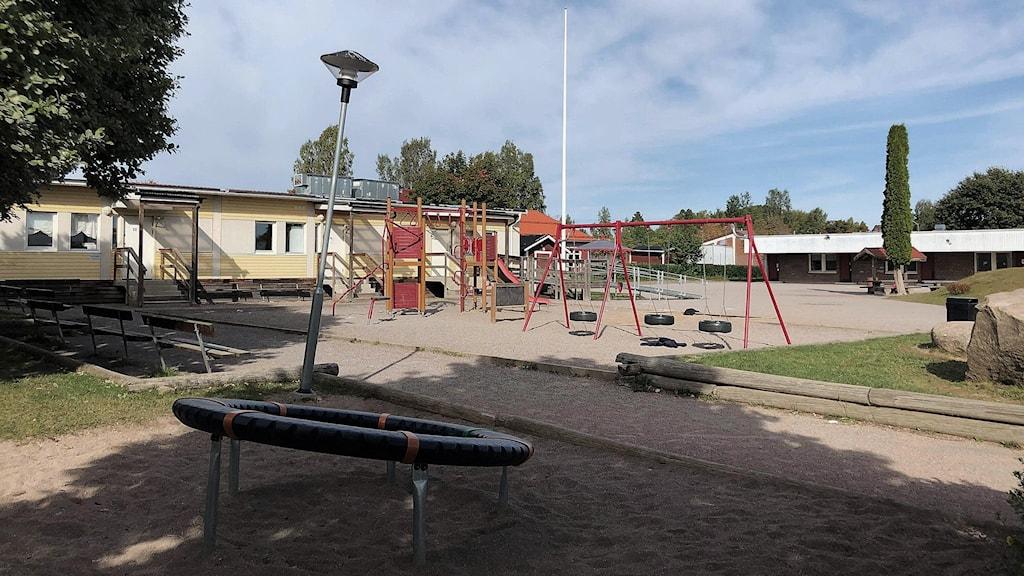 bild på skolgård
