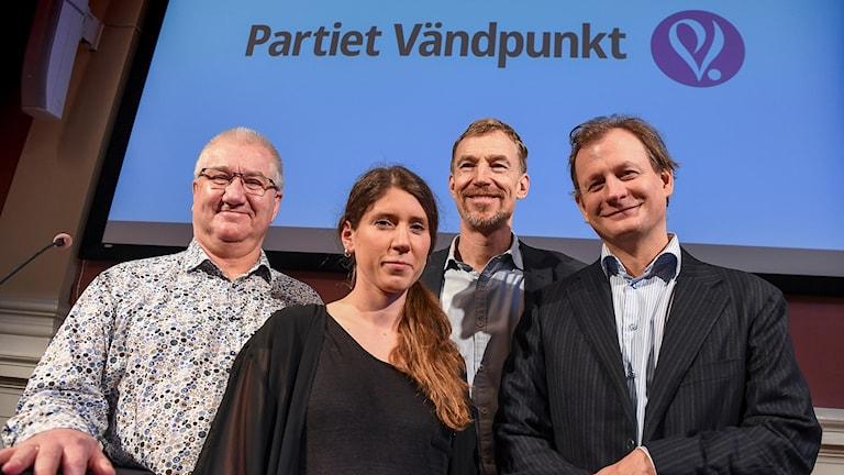 medlemmar i Vändpunkt, nytt parti