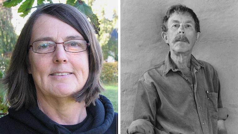 Författarna Elvira Birgitta Holm och Hans-Eric Hellberg.