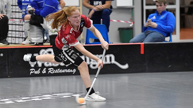 Johanna Hultgren i Kais Mora
