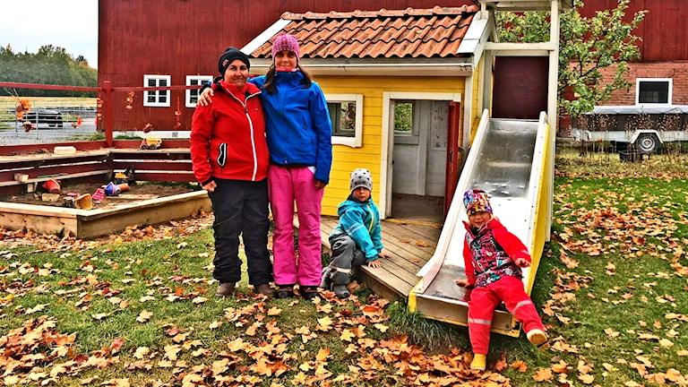 Layla Al Alwo och hennes nya arbetsgivare Åsa Höglund på Naturknutens förskola i Borlänge