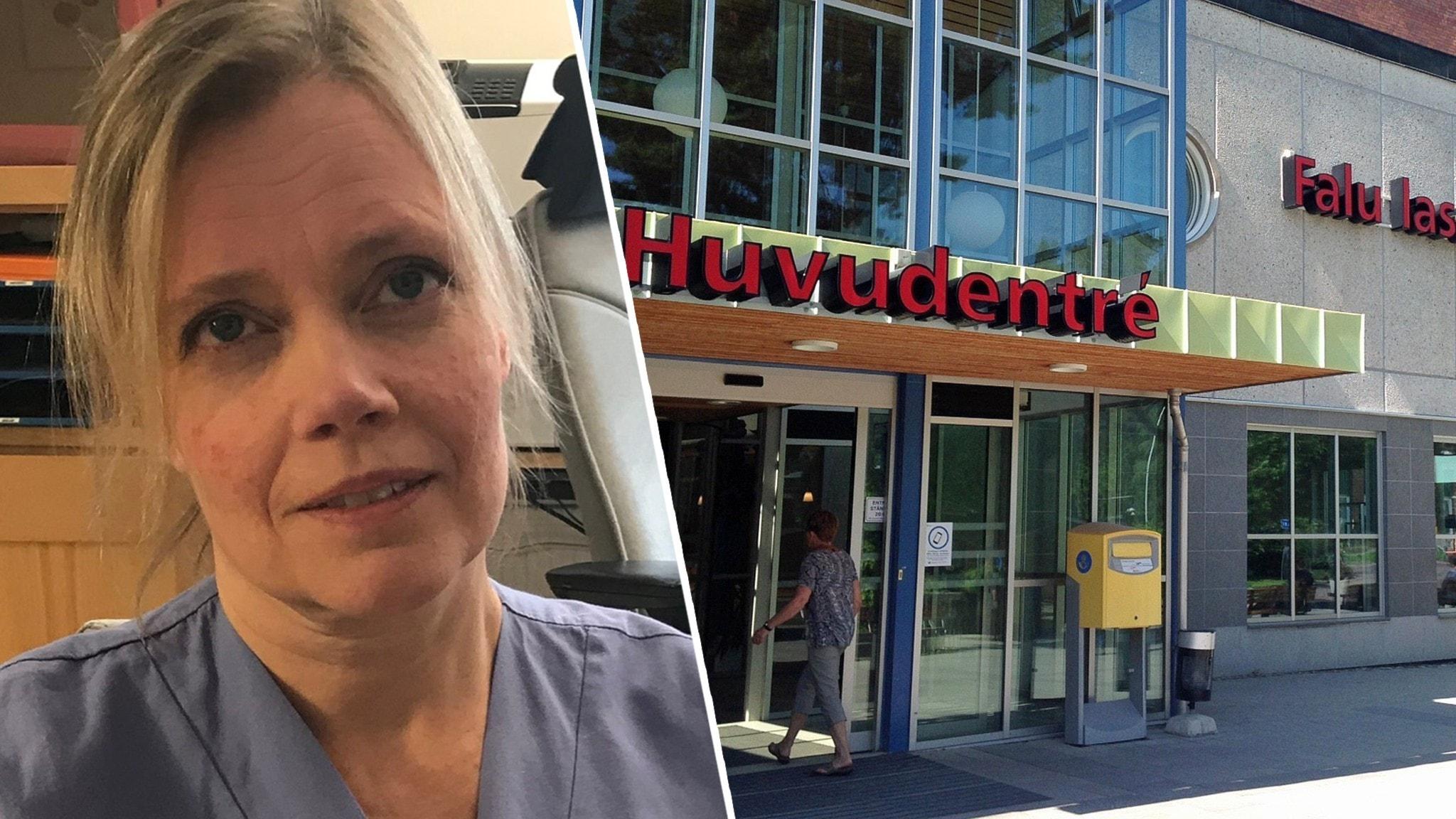 Coronautbrott på hjärtkliniken i Falun – 22 smittade - P4 Dalarna