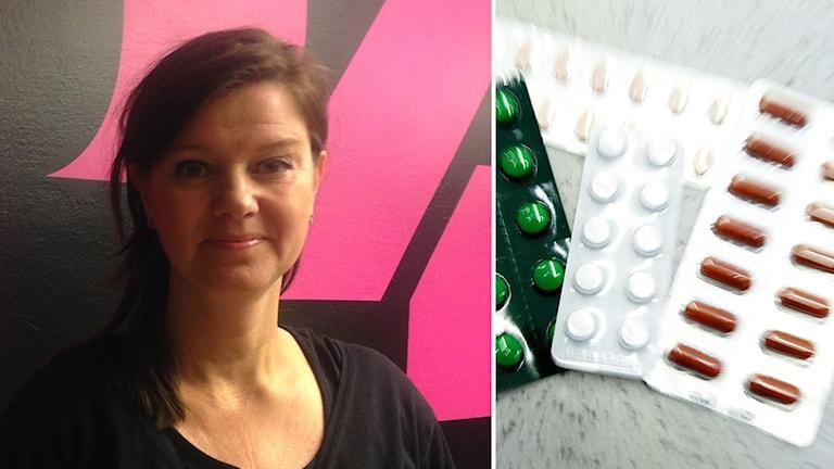 Psykiatrin i Dalarna får kritik. Kerstin Erlandsson, Vårdförbundets ordförande.