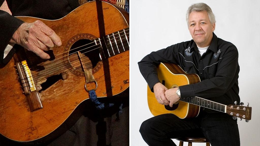Gitarr och Tommy Löfgren