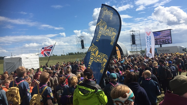 Scouter på Jamboree