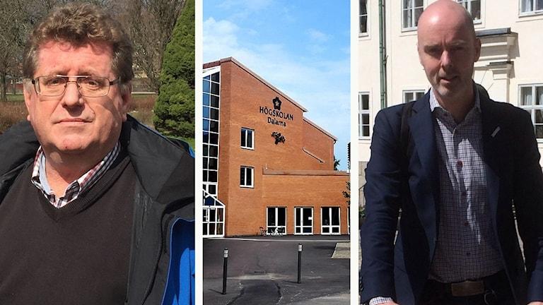Jan Bohman (S), Högskolan Dalarna och Jonny Gahnshag (S)