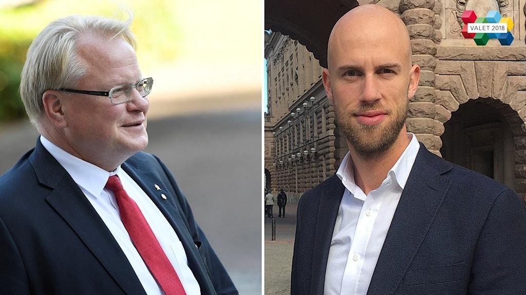 Peter Hultqvist och Carl-Oskar Bohlin